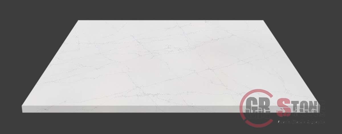 Shelf marble or polished stone  beautiful on white background